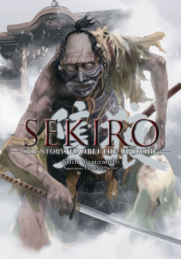 The cover of Sekiro Side Story: Hanbei the Undying by Yen Press.