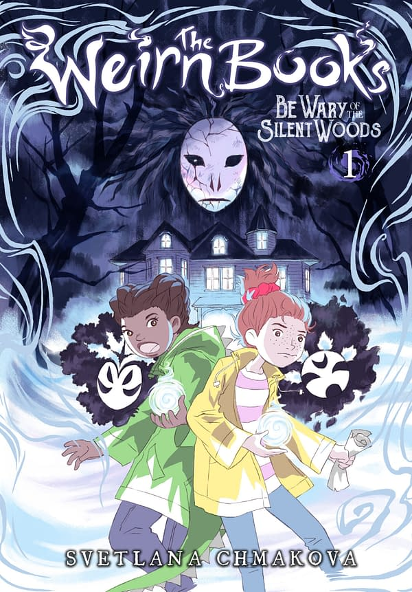 "The cover of The Weirn Books Vol. 1: Be War of the Wood"" from Yen Press"