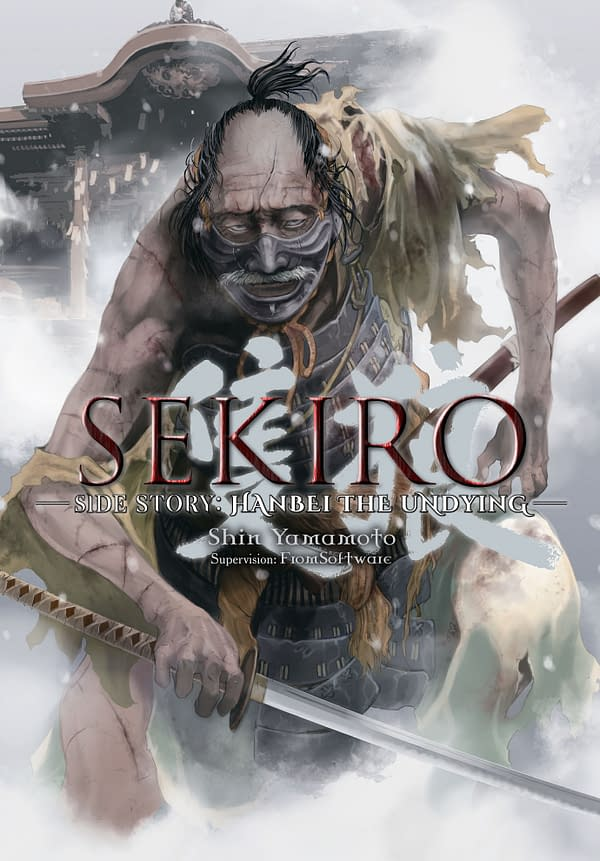 Sekiro Side Story: Hanbei the Undying cover art from Yen Press