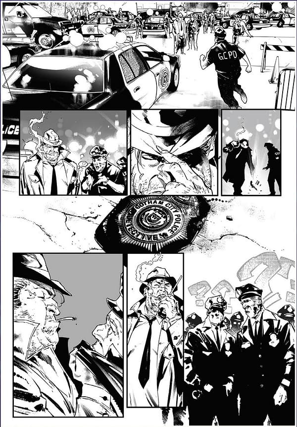 Barbara Gordon as Oracle in Four Pages From Batman #100 (Preview)