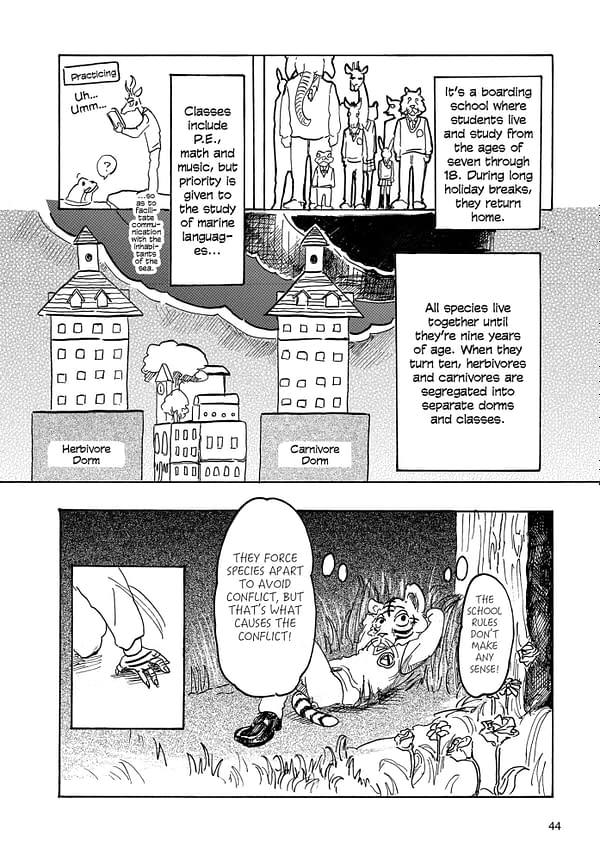 Beast Complex: Viz Media to Publish Beastars Spinoff Manga