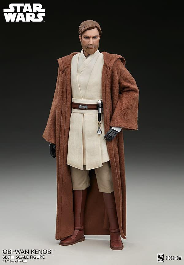 Star Wars Obi-Wan Kenobi Gets Animated With New Sideshow Figure