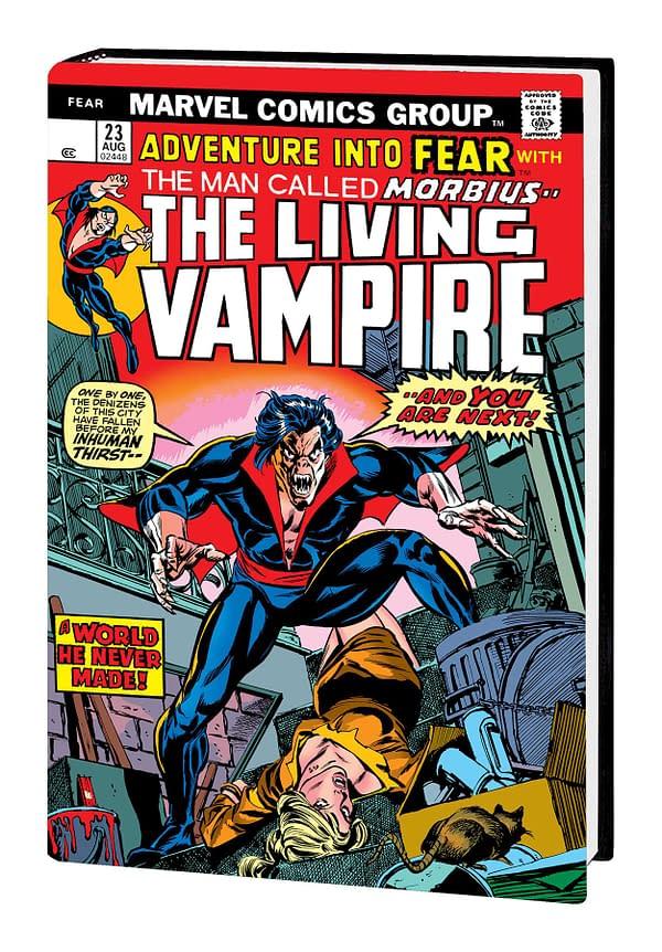 Morbius Living Vampire Omnibus