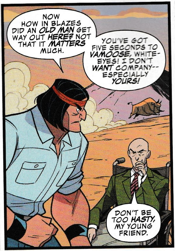 Rewriting Giant Size-X-Men As Well As Redrawing It