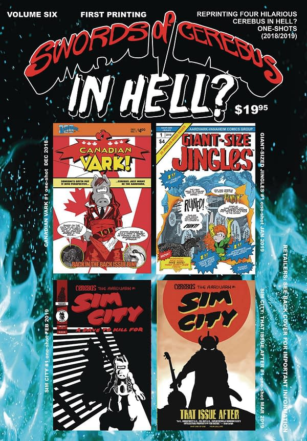 Dave Sim Is Nostalgic For Pandemic In September's Cerebus In Hell