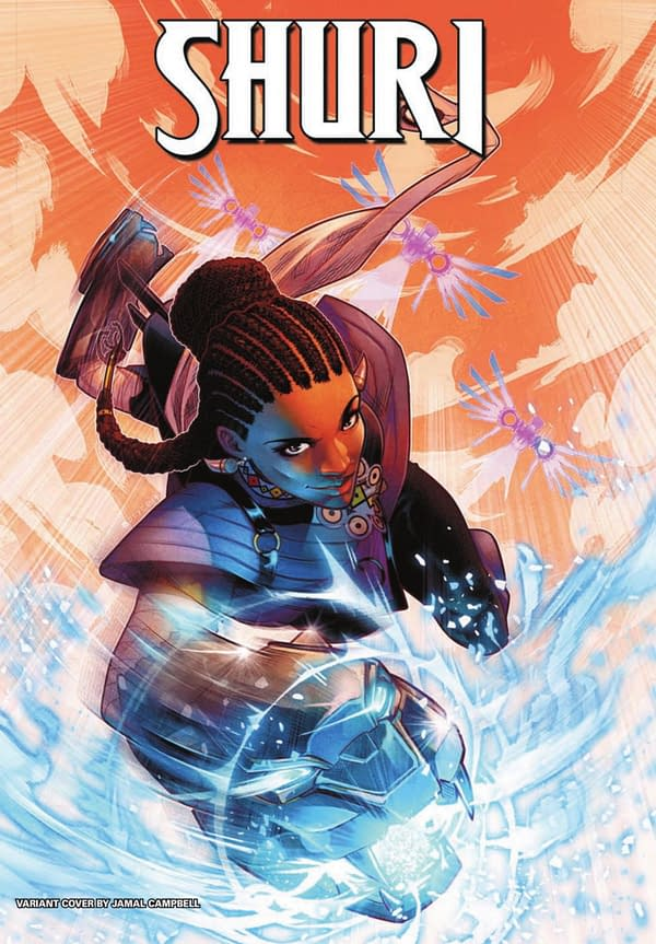 Shuri Designs by Leonardo Romero For New Marvel Comic Series