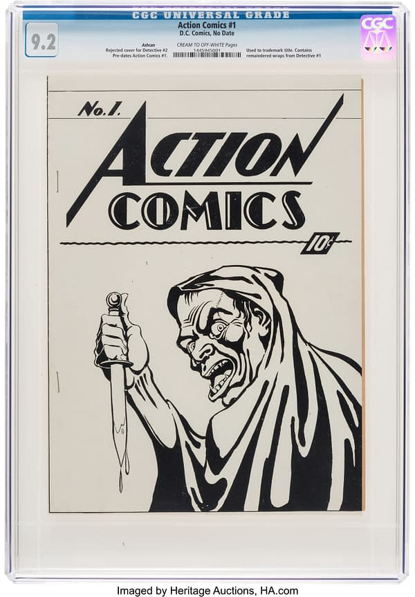 Action Comics #1 Ashcan Sells For $204,000