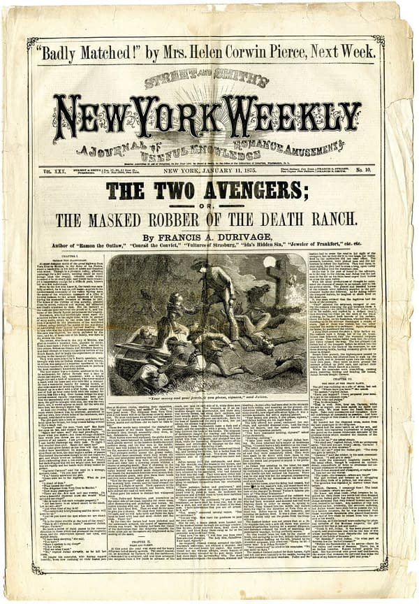 The Issue: Street & Smith's 1875 Avengers of the Wasteland