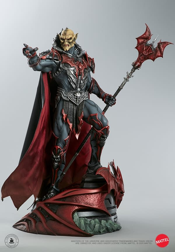 MOTU Villain Hordak Maquette Coming From Tweeterhead