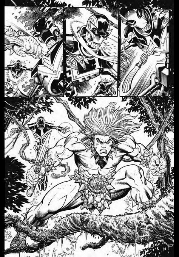 Firat Look at Avengers #50