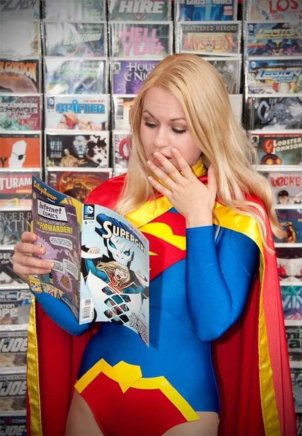 The Supergirl Cosplayer Who Went To Charlottesville – Guess Whose Side She Was On