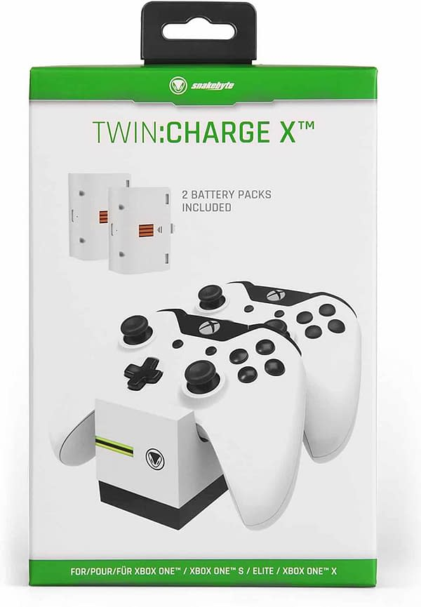 Who Buys Batteries? We Review the Snakebyte Twin: Charge X
