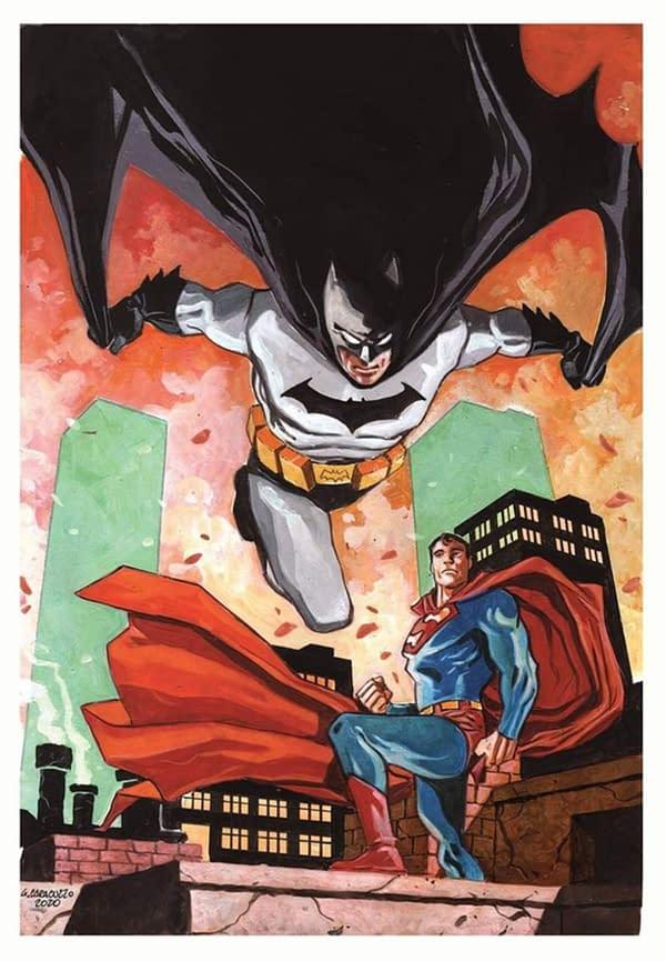 Separated At Birth - Giancarlo Caracuzzo and Lee Weeks' Batman/Superman.