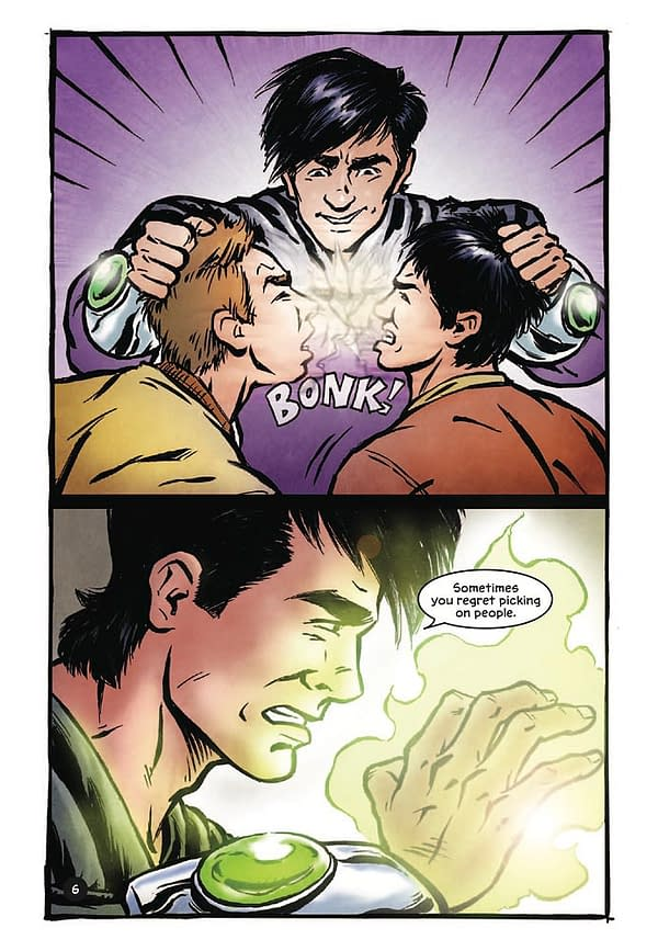Preview: The Power Within, A Comic About Gay Teen Bullying