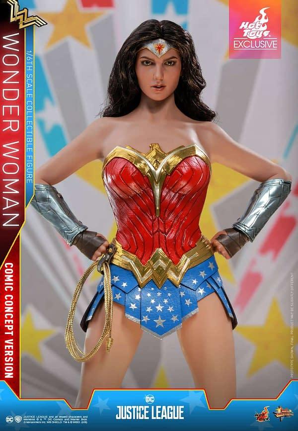 Hot Toys Justice League Wonder Woman Concept 2