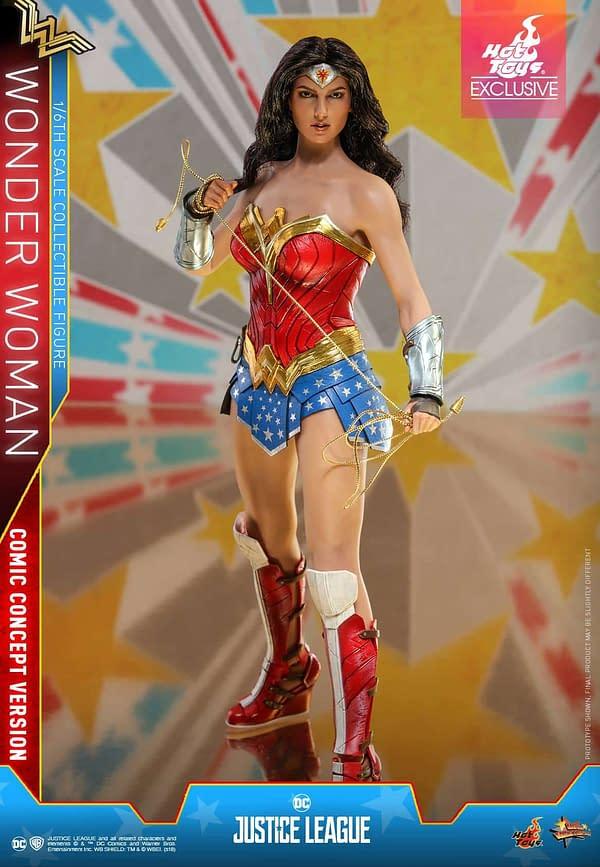 Hot Toys Justice League Wonder Woman Concept 3
