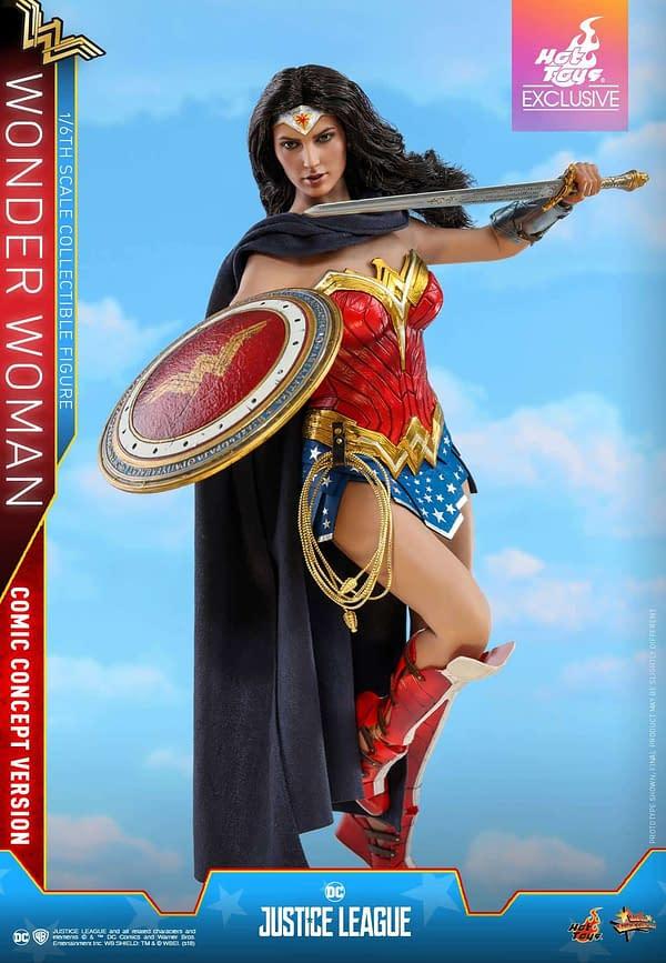 Hot Toys Justice League Wonder Woman Concept 4