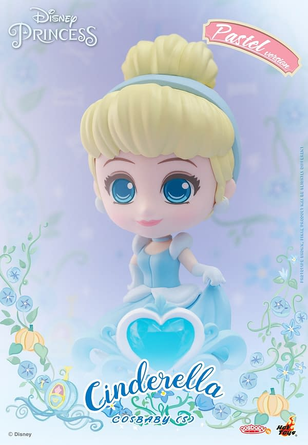 Disney Princesses Gets Royal Cosbaby Figures from Hot Toys