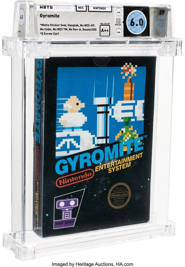 There's A Boxed & Sealed Version Of Gyromite Up For Auction