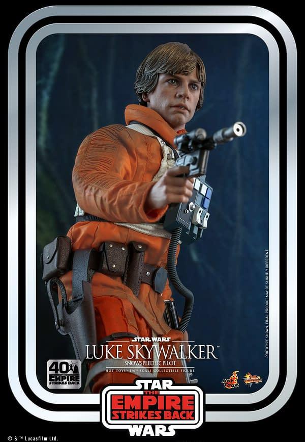 Star Wars Luke Skywalker Snowspeeder Outfit Arrives at Hot Toys