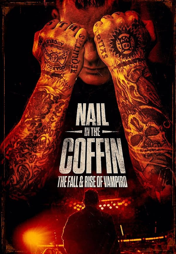 The official movie poster for Nail in the Coffin: The Fall and Rise of Vampiro