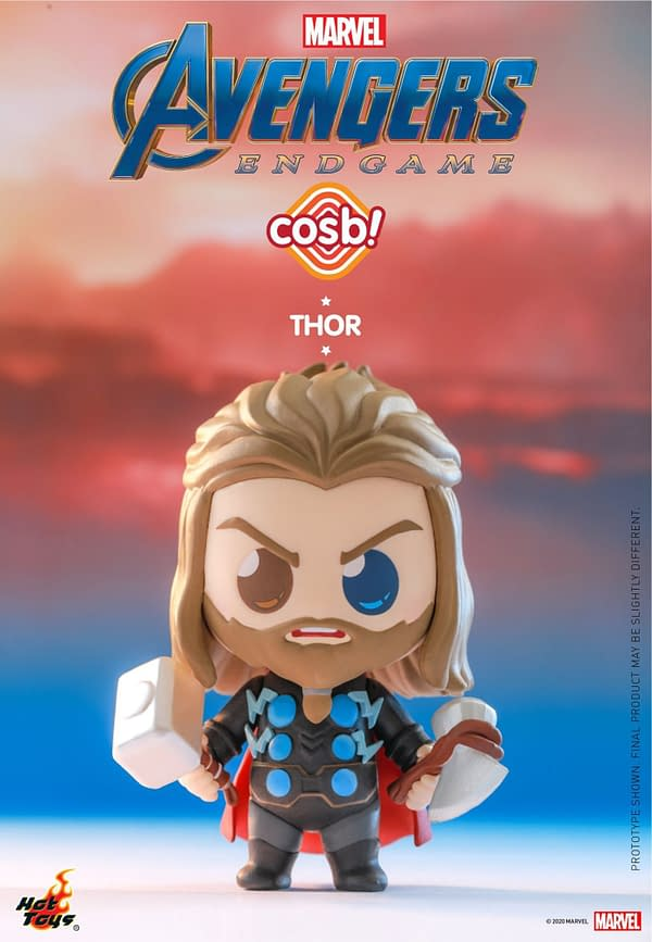 Hot Toys Unveils Avengers: Endgame Themed Cosbi Figures