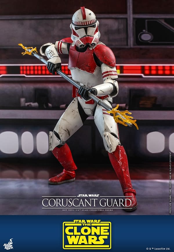 Star Wars Coruscant Trooper Stands Guard as New Hot Toys Reveal