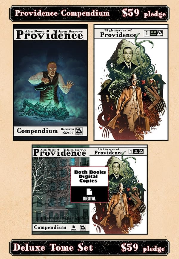 Alan Moore's Providence Compendium On Kickstarter With Signed Copies