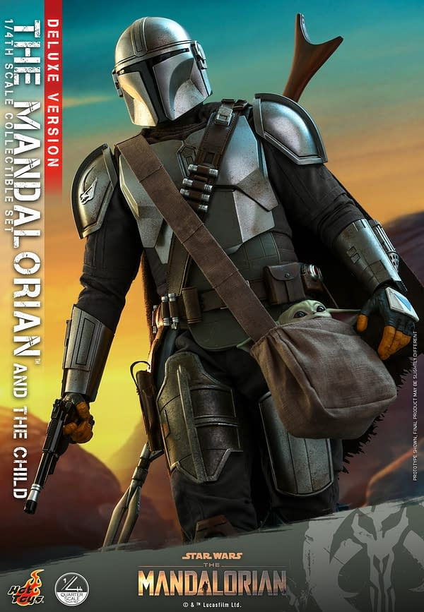 Hot Toys Announces 1/4th Scale The Mandalorian & The Child Figure Set