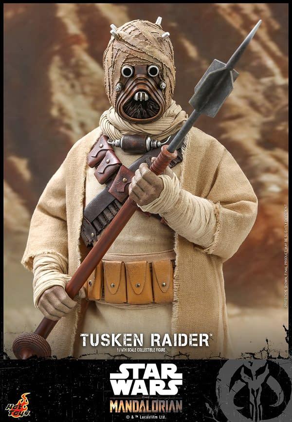 The Mandalorian Tusken Raider Finally Revealed by Hot Toys