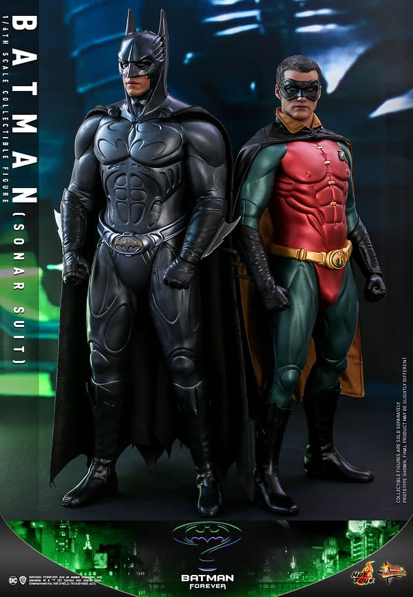 Batman Forever Sonar BatSuit is Back With Hot Toys Newest Release