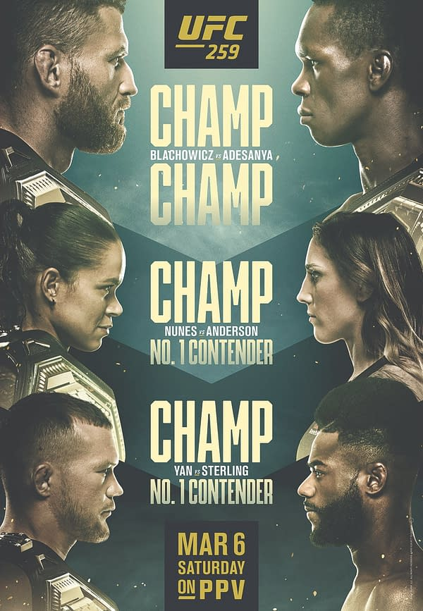 UFC 269 Trailer Hypes The Three Title Fights For March 6th