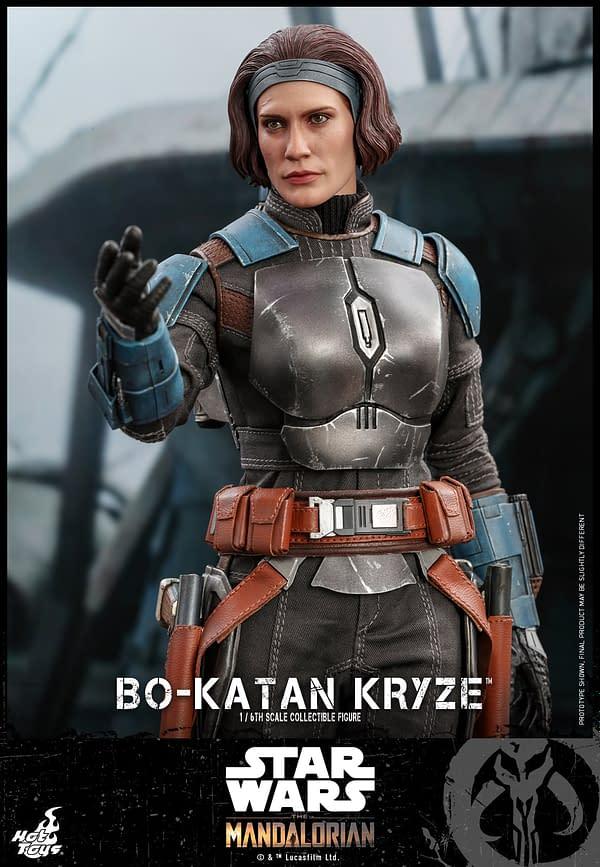 The Mandalorian Bo-Katan Has Her Own Agenda At Hot Toys