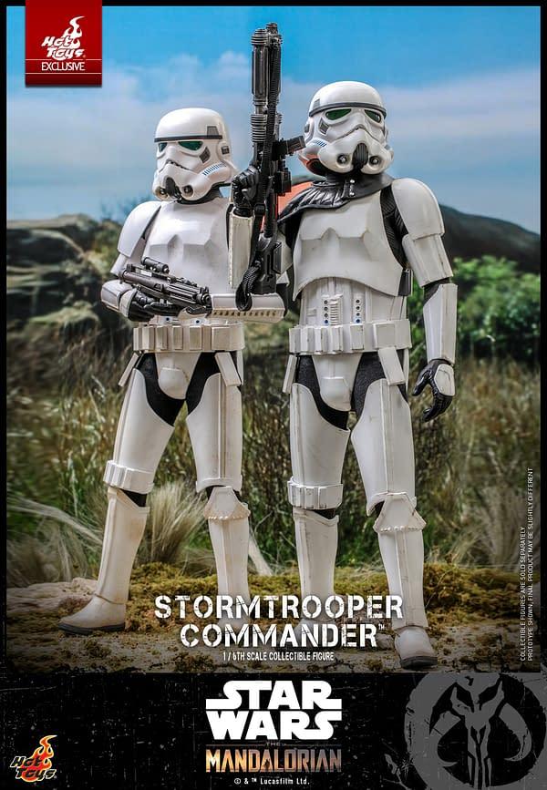 Star Wars Stormtrooper Commander Calls Reinforcements With Hot Toys