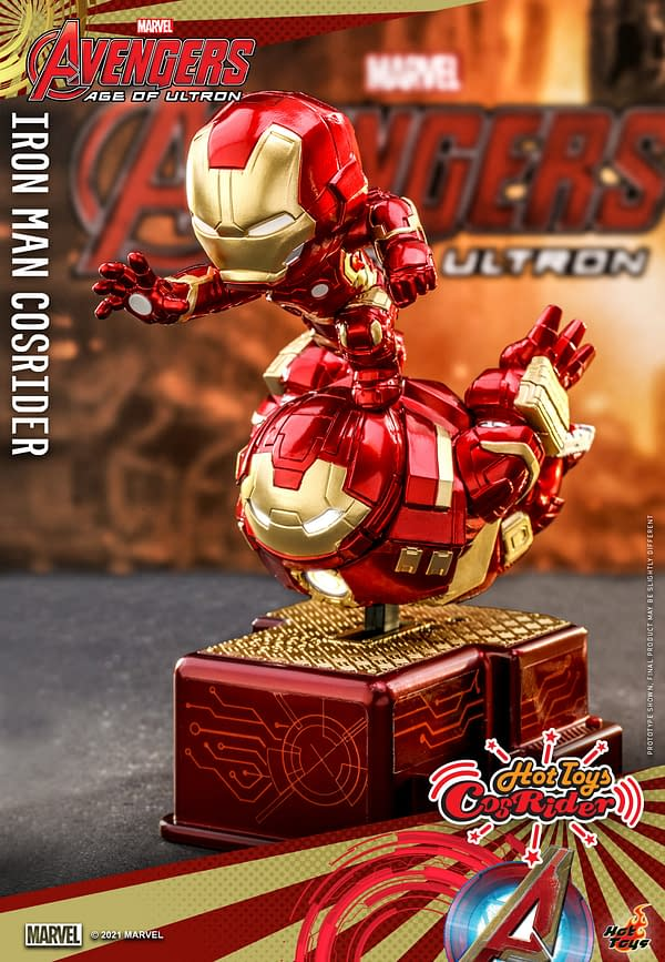 New Marvel MCU CosRider Collectibles Coming from Hot Toys