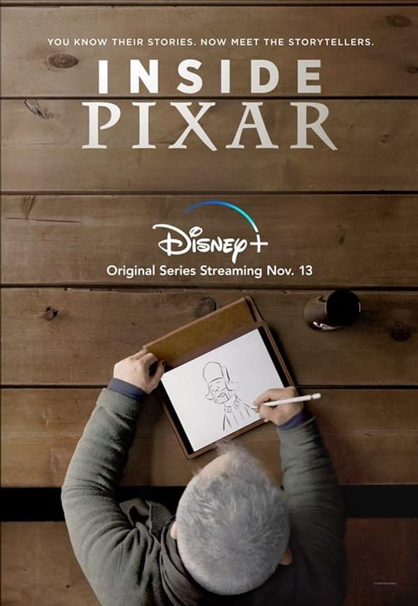Inside Pixar Trailer Released By Disney, Debuts On Plus Friday