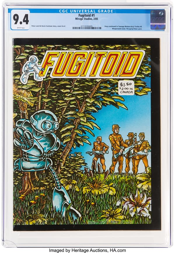 A Very Nice Fugitoid #1 Form The Mirage Days Is On Auction At Heritage
