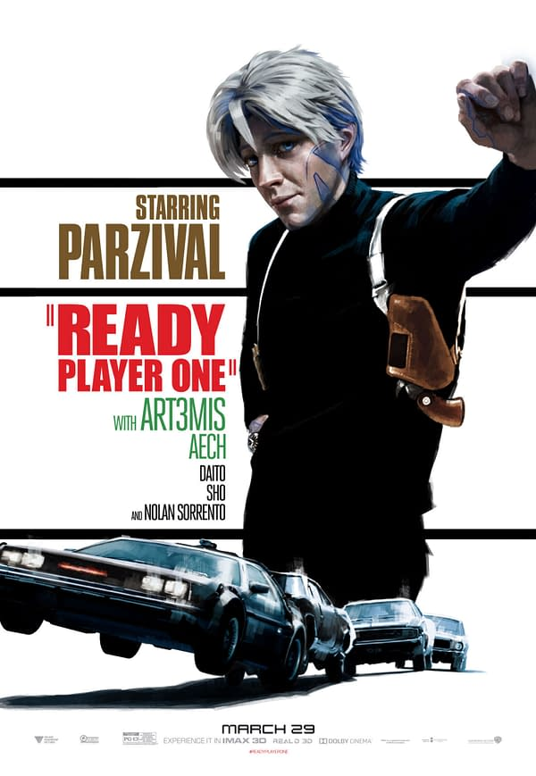 These 'Ready Player One' Reimagined Classic Movie Posters Are AMAZING