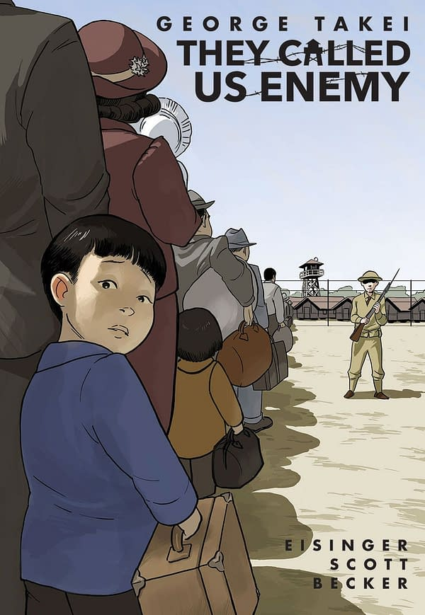 Top Shelf to Publish George Takei's Graphic Memoir, They Called Us Enemy