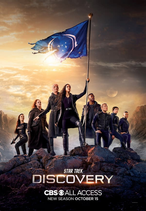 A look at Star Trek: Discovery season 3 (Image: ViacomCBS)