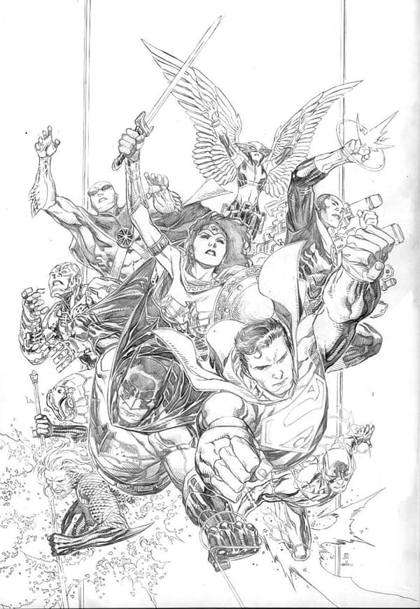 John Stewart Joins Scott Snyder and Jim Cheung's Justice League for #1 Relaunch