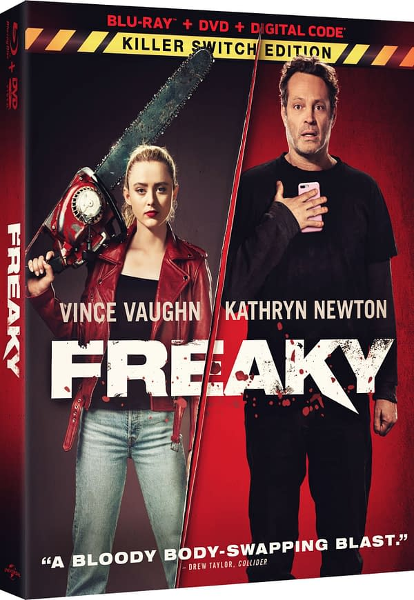 Freaky Blu-ray Details: Deleted Scenes, Commentaries, & More
