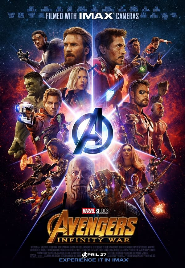 Avengers: Infinity War Gets an IMAX Poster, Still No Hawkeye