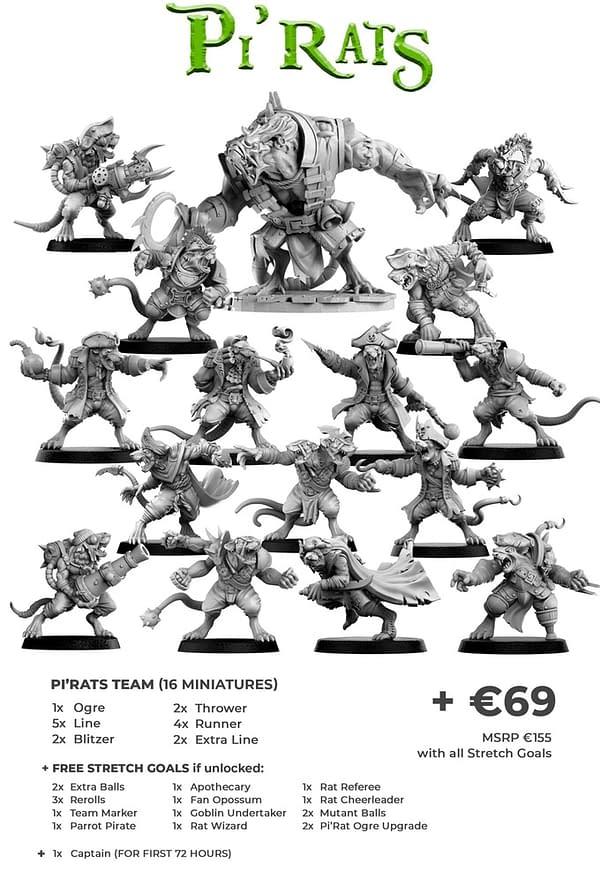 """Punga Miniatures Kicks off """"Pi'Rats"""" on Kickstarter"""