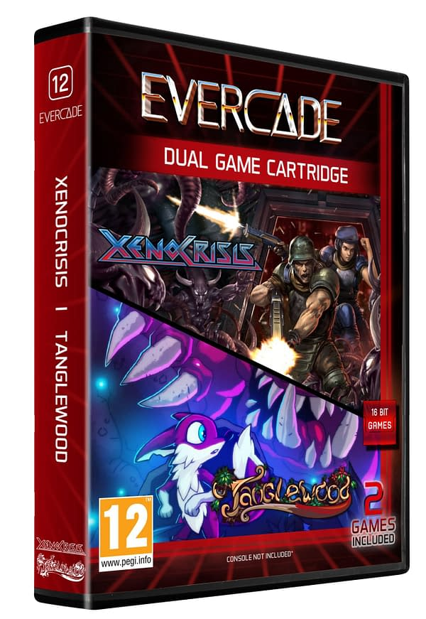 """Xeno Crisis"" & ""Tanglewood"" Receive An Evercade Cartridge Release"