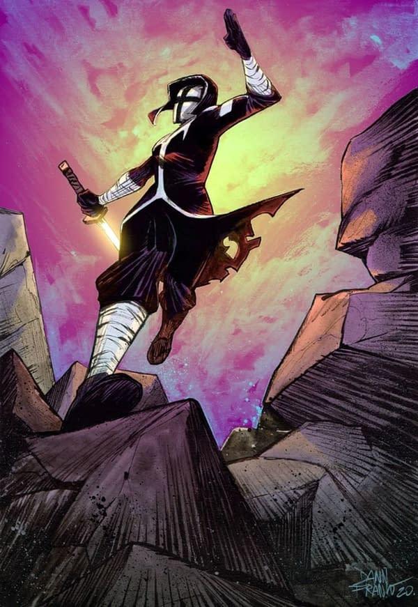 Ninja Nuns #1 cover. Credit: Bob Frantz's Kickstarter