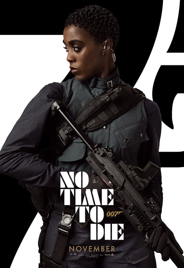 13 New Character Posters for Bond, No Time To Die, Show the Main Cast
