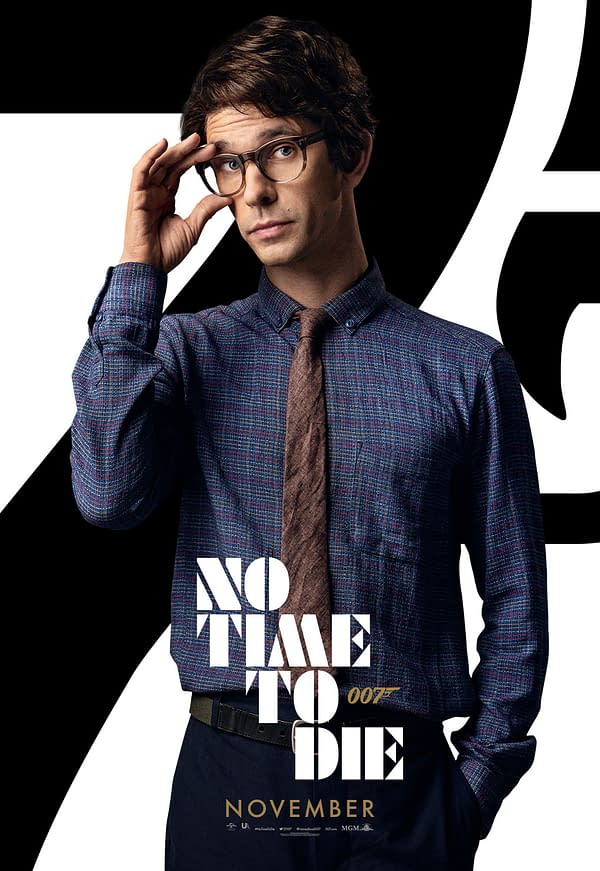 13 New Character Posters for No Time To Die Show the Main Cast