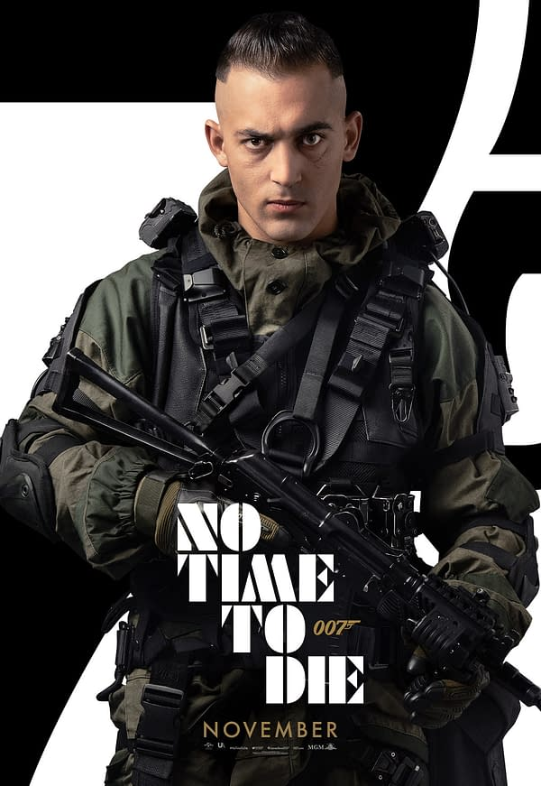 No Time To Die: 13 New Character Posters Show Off the Main Cast