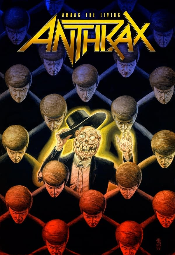 Surprise! Grant Morrison & Gerard Way Anthrax OGN Out on Wednesday